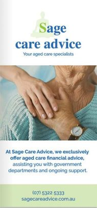 Sage Care Advice Brochure